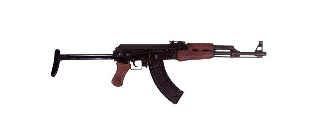 Denix Kalashnikov Ak47 with folding butt - Replica 1