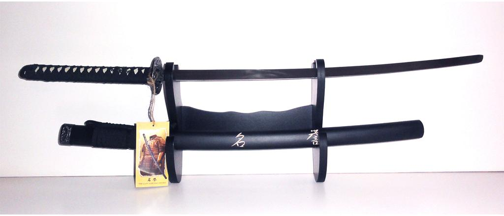 Samurai Katana II with wall mount 1