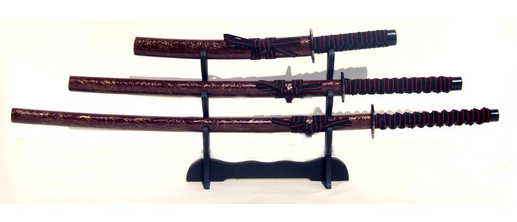 "Samurai swords set, quartered ""Musashi\"" 1"
